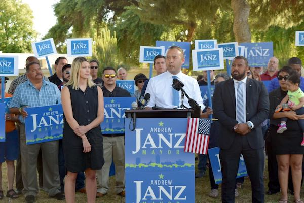 Andrew Janz announces that he is running for Mayor of Fresno!