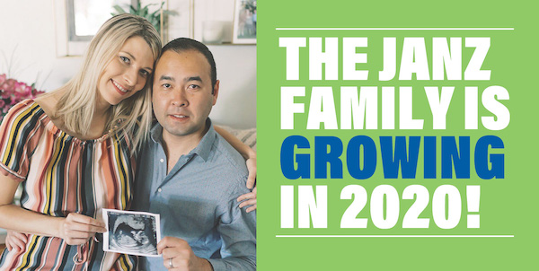 The Janz family is growing in 2020!