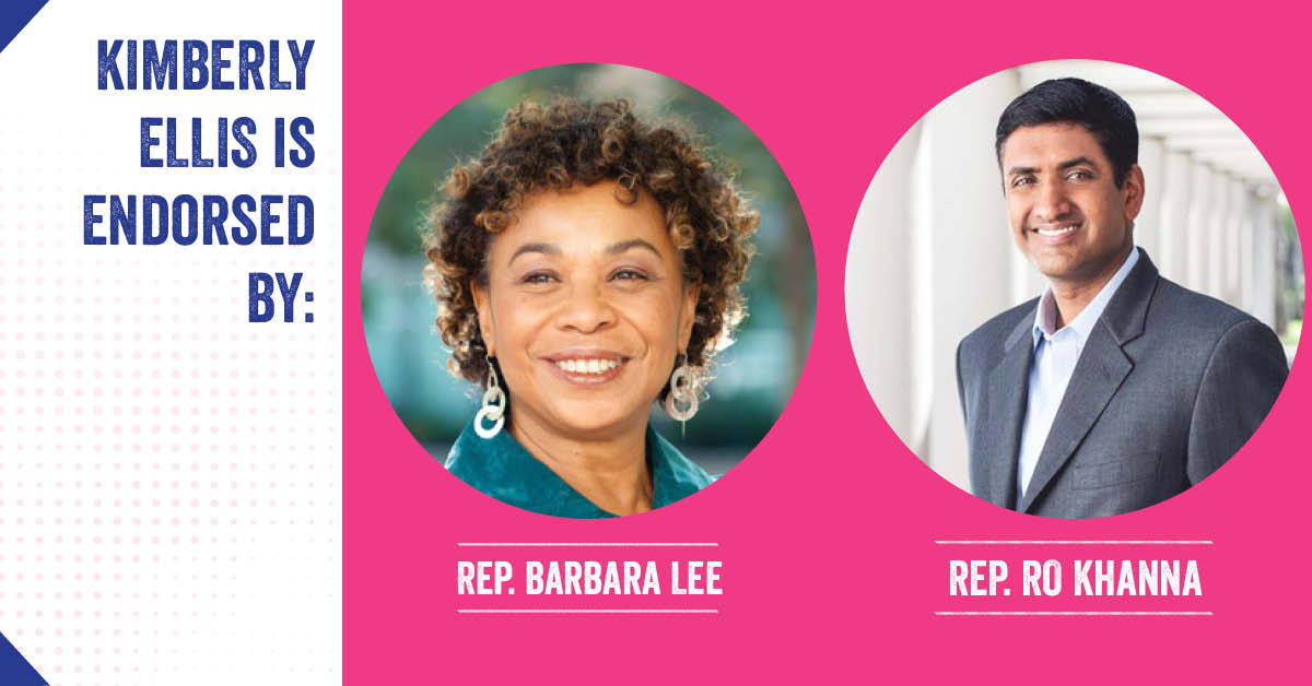 Barbara Lee and Ro Khanna endorsement
